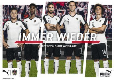 UEFA EURO 2016 Team Austria – Puma Campaign