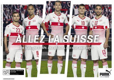 UEFA EURO 2016 Team Swiss – Puma Campaign