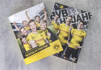 BORUSSIA DORTMUND – CATALOG AND PLAYER AUTOGRAPHCARD