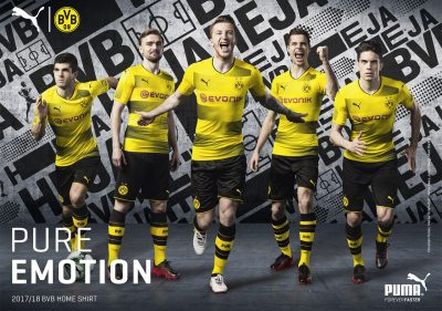 Puma Campaign – BVB – Home/Away 2017/18